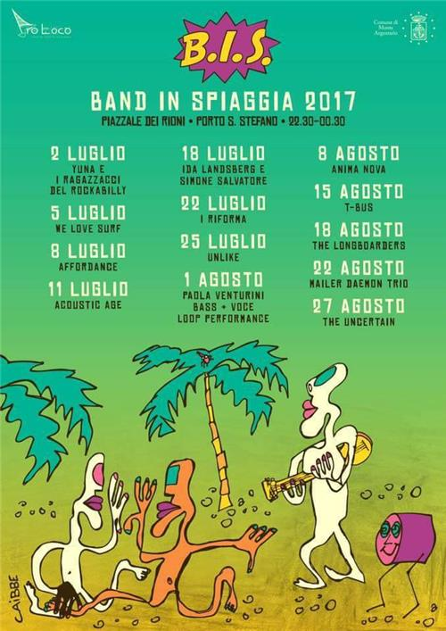 B.I.S. Band in spiaggia