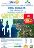Argentario Run for polio