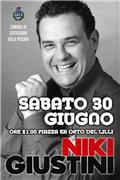 Serata di Cabaret con Niki Giustini