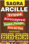 Sagra di Arcille: Trippa, Strozzapreti, Zuppa di Funghi e Festa del Vino